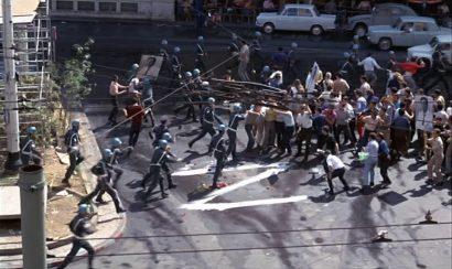 Szene aus 'Z –Anatomie eines politischen Mordes(1969)'