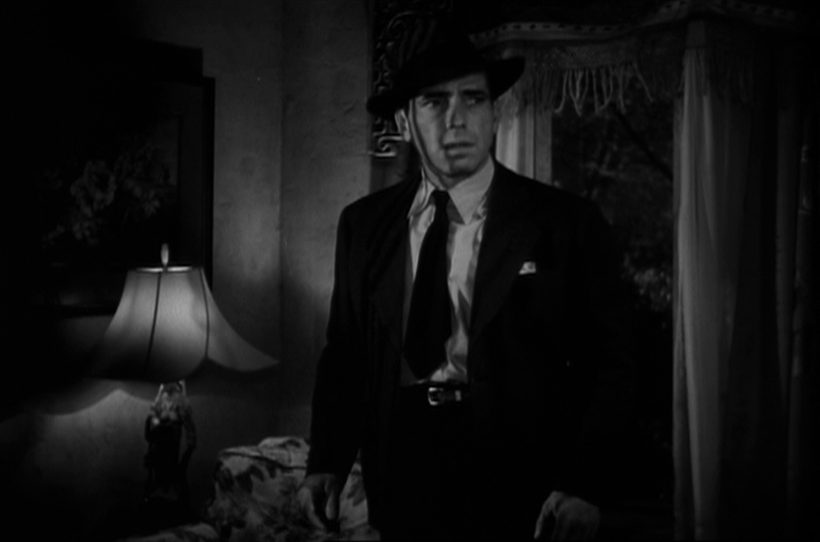 Szene aus 'The Big Sleep (1946)', Copyright: Turner Entertainment, Warner Bros.