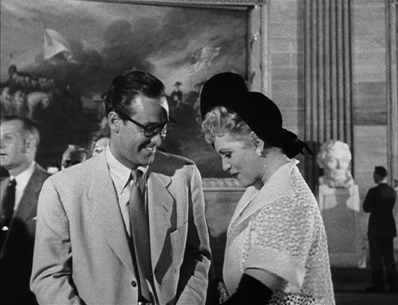Szene aus 'Born Yesterday(1950)', Copyright: Columbia Pictures