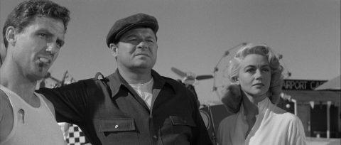 Szene aus 'Duell in den Wolken(1957)'