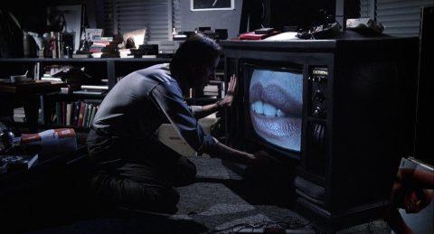 Szene aus 'Videodrome(1983)'