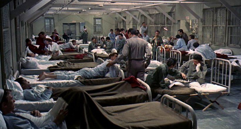 Szene aus 'Captain Newman(1963)', Copyright: Universal Pictures