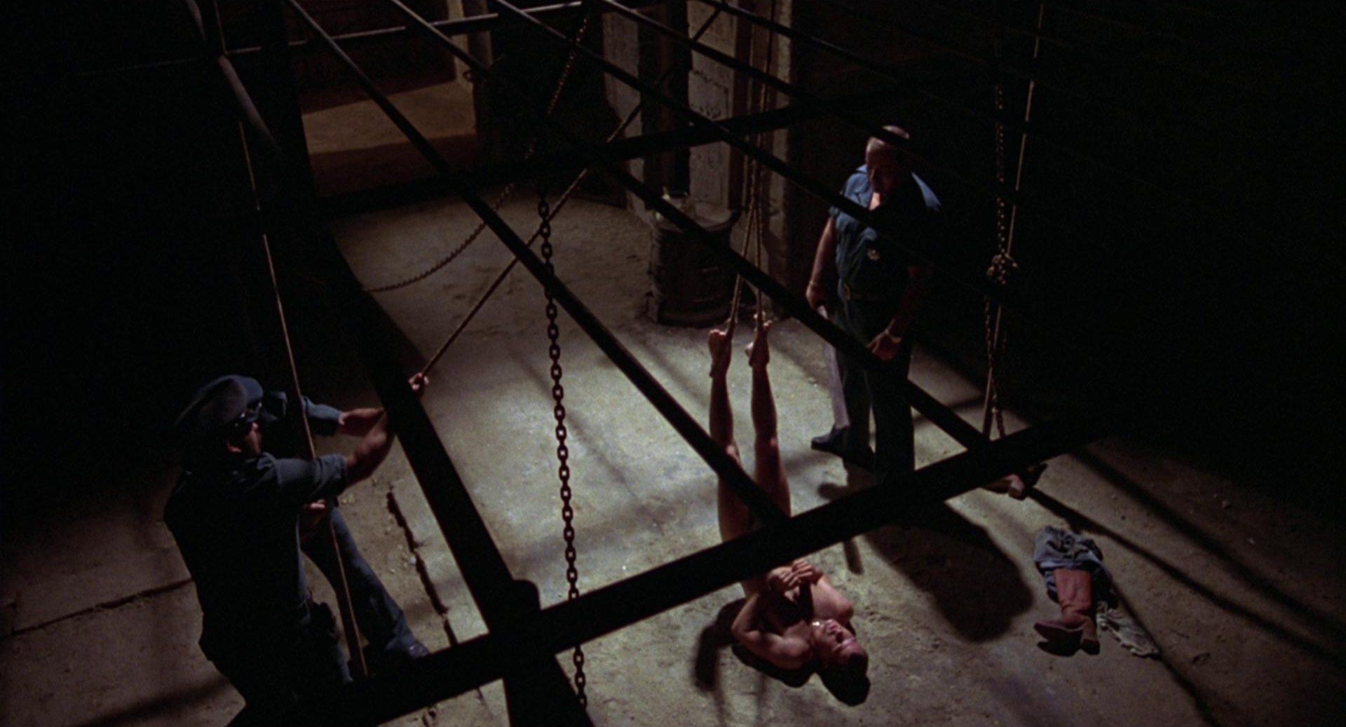 Folter im Gefängnis.