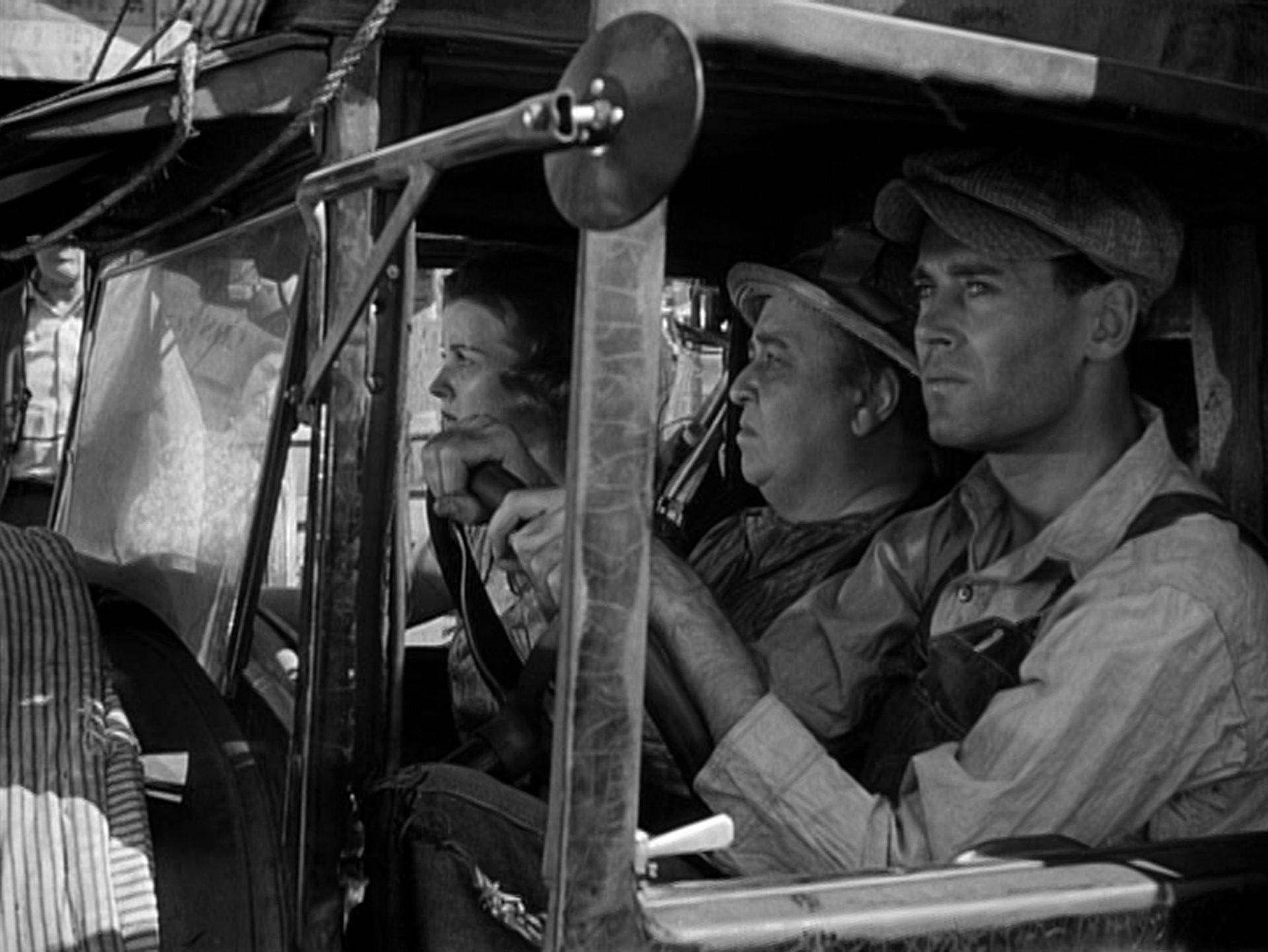 Szene aus 'Früchte des Zorns(1940)'