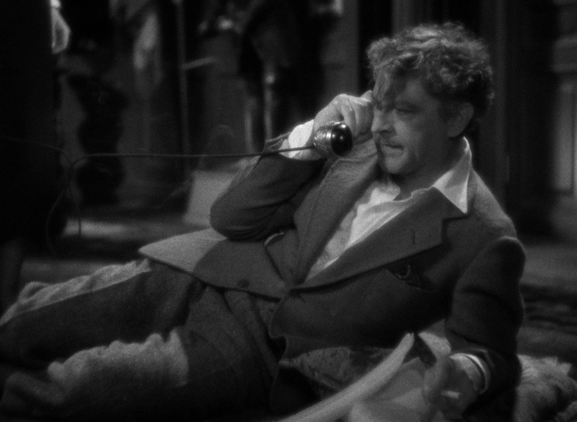 Szene aus 'Napoleon vom Broadway(1934)', Copyright: Columbia Pictures