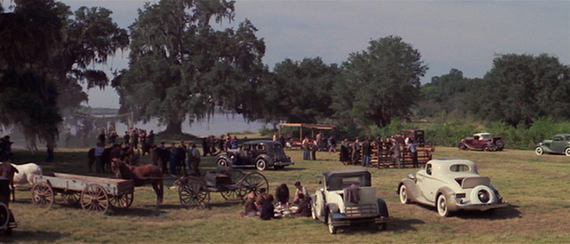 Zusammenkunft im Grünen mit Louisiana-Flair.