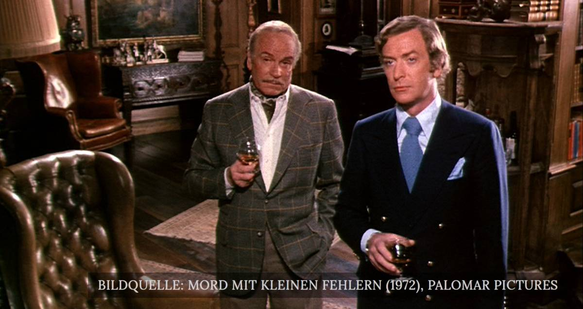 mord mit kleinen fehlern 1972 film kurzreview. Black Bedroom Furniture Sets. Home Design Ideas